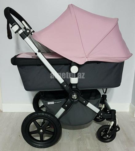 Bugaboo-Cameleon-3-pram-pushchair-full-travel-system-charcoal-grey-soft-pink.-2
