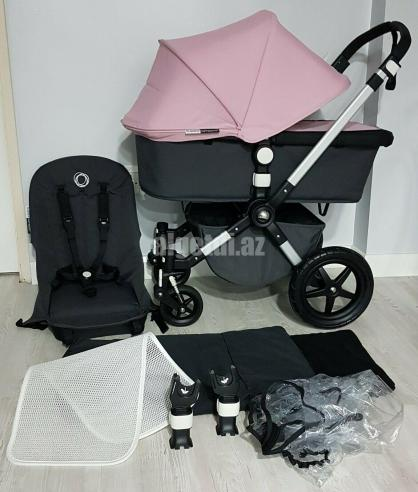 Bugaboo-Cameleon-3-pram-pushchair-full-travel-system-charcoal-grey-soft-pink.