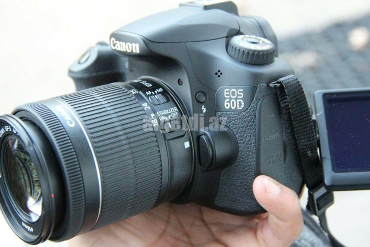 MINT-Canon-EOS-60D-Digital-camera-18.0-MP-SLR-With-18-55mm-IS-II-3-LENSES