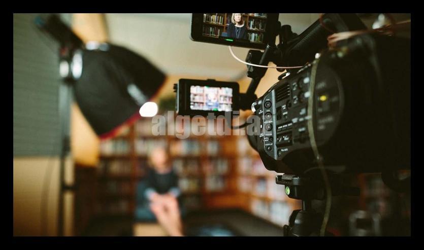 AGU-Stock-Video-Camera-Interivew