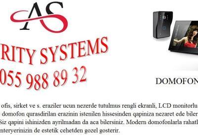 DOMOFON 055 988 89 32