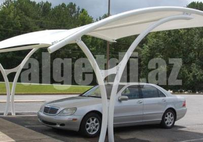 textile membranes structures for car shades
