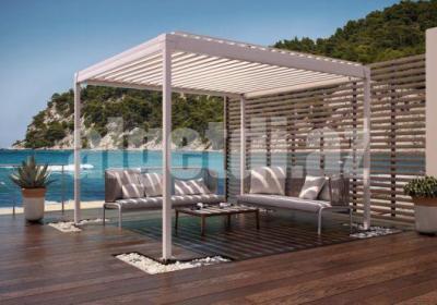 Aluminum Waterproof Aluminum Pergola for Swimming Pool Shading