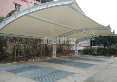 car parking shades for New splendid restaurant hotel Guangzhou 1
