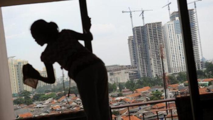 """""""الاتجار بالبشر"""": غالبية الضحايا هنّ من النساء عاملات المنازل"""