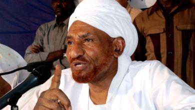 المعارض السوداني الصادق المهدي