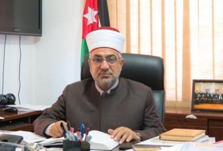 وزير الأوقاف والشؤون والمقدسات الإسلامية محمد الخلايلة،- (أرشيفية)