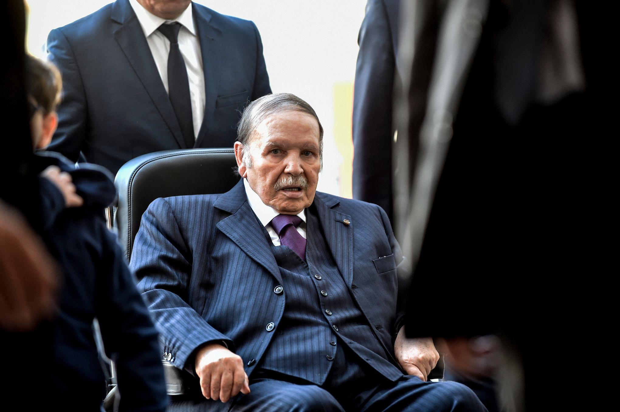الرئيس الجزائري عبد العزيز بوتفليقة- (أرشيفية)
