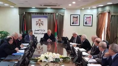 Photo of وزير العمل يلتقي مجلس الشراكة في قطاع الإنشاءات