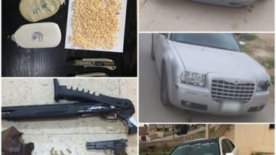 Photo of ضبط 7 متورطين بقضايا مخدرات وأسلحة ومركبات مسروقة – فيديو