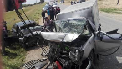 Photo of وفاتان و3 إصابات بحادث تصادم في المفرق (صور)