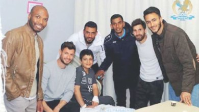 Photo of الفيصلي يقدم عرضا لشراء بطاقة العرسان و 5 نجوم يلبّون دعوة طفل لزيارة في المستشفى