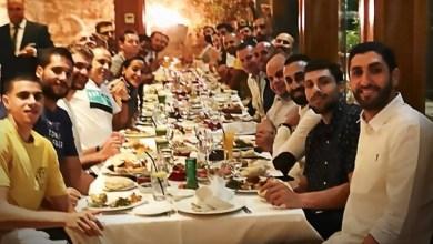 """Photo of """"اتيكو"""" تُقيم حفل عشاء لـ """"صقور النشامى"""" قبل السفر إلى الصين"""
