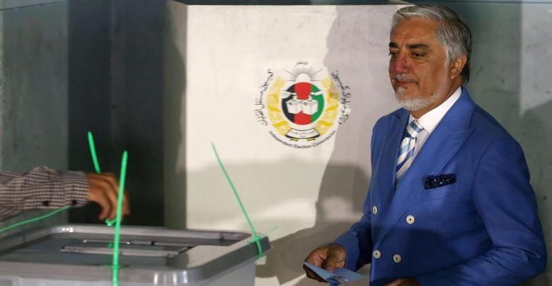 عبدالله عبدالله يعلن فوزه بالانتخابات الافغانية - أرشيفية