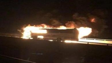 Photo of وفاة 35 معتمرا بحادث حافلة في المدينة المنورة