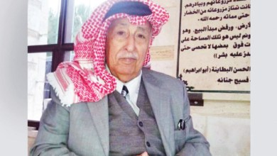 Photo of رحيل الشاعر الأردني نايف أبو عبيد وسيوارى جثمانه اليوم بمدينة الحصن