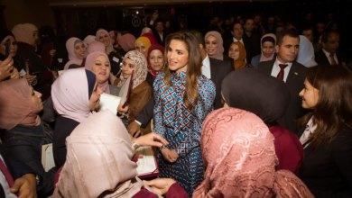 Photo of الملكة رانيا تكرم الفائزين بجائزتي المعلم المتميز والمدير المتميز لعام 2019