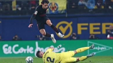 من مباراة أتلتيكو مدريد