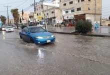 الأمطار في اربد