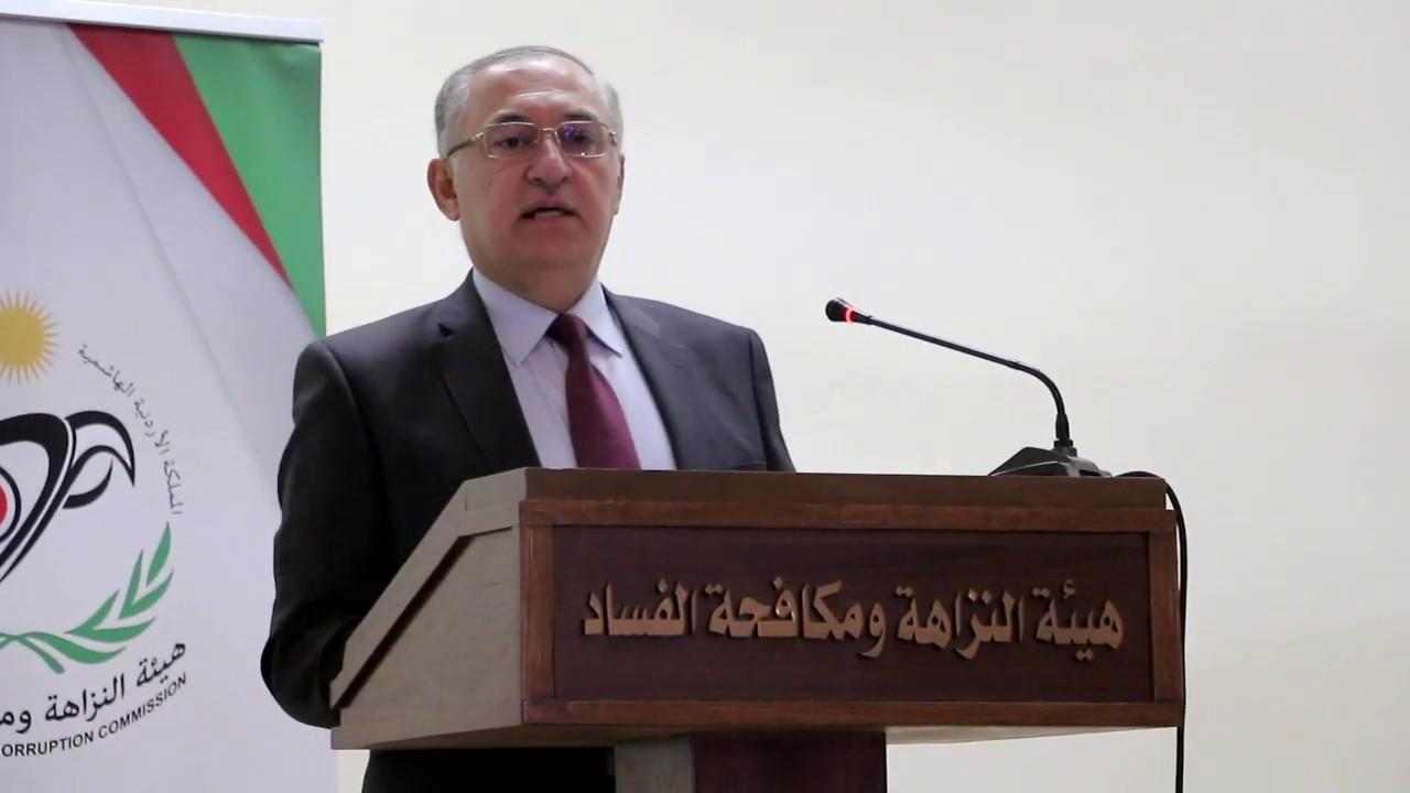 رئيس هيئة النزاهة ومكافحة الفساد مهند حجازي