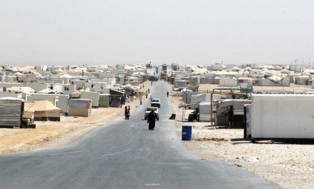 مشهد عام من مخيم الزعتري - (الغد)