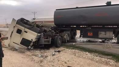 """Photo of إصابة إثر تصادم مركبتين في تحويلة العامرية على """"الصحراوي"""""""