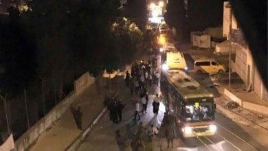 جانب من احتجاجات الشارع الفلسطيني على صقة القرن