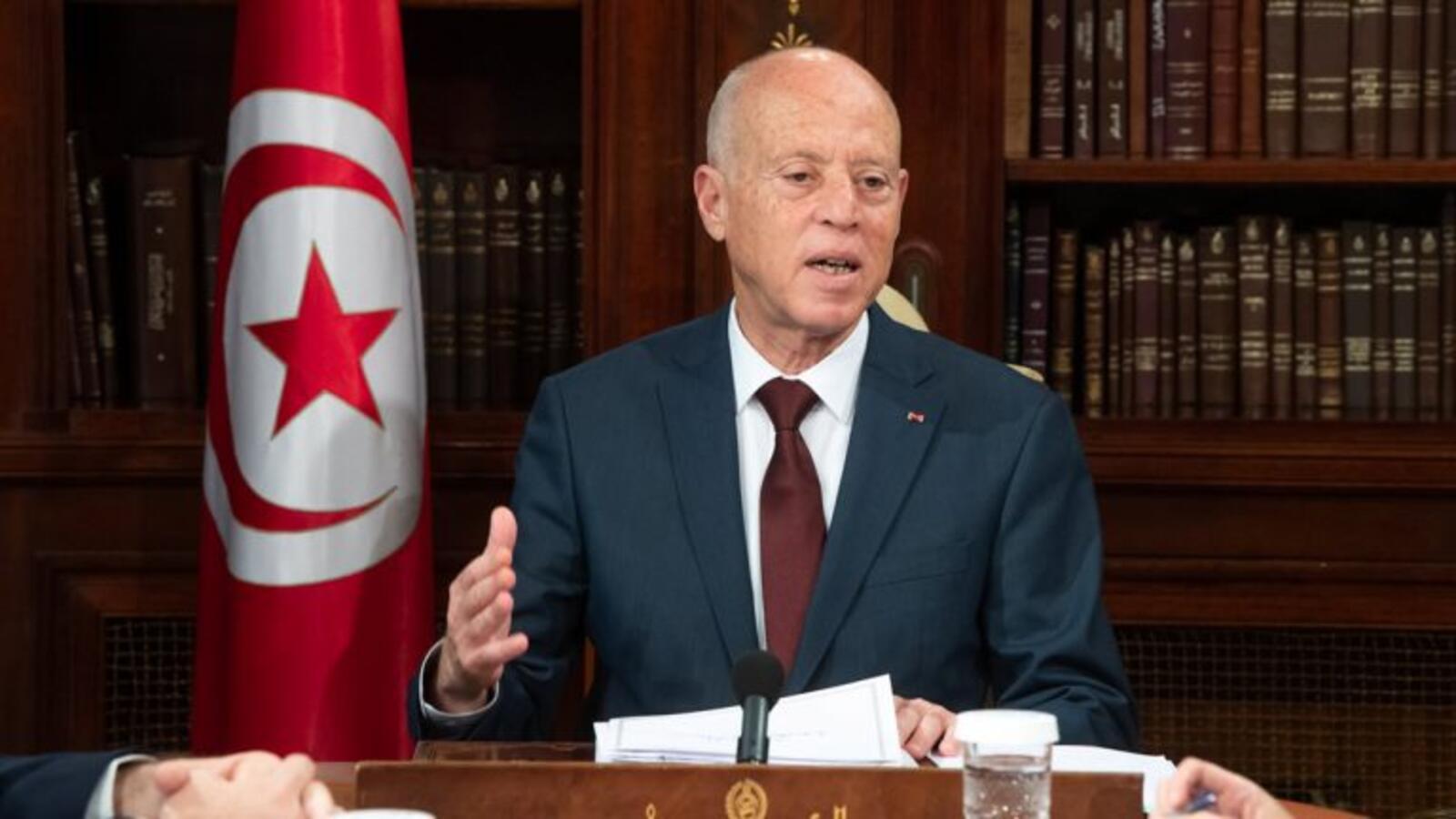 الرئيس التونسي قيس سعيد - أرشيفية