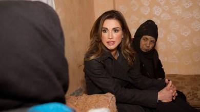 Photo of الملكة تلتقي مستفيدين من برامج جمعية الذرة الخيرية في الجيزة
