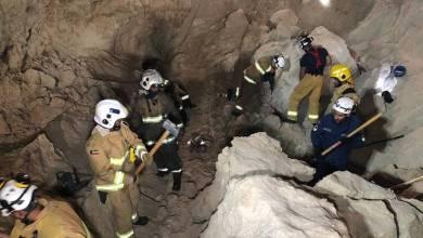 "Photo of وفاة 6 عمال بحادث ""انهيار جدار رملي"" في الكويت (صور وفيديو)"