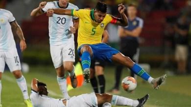 Photo of البرازيل تسحق غريمتها الأرجنتين وتلحق بها إلى أولمبياد طوكيو