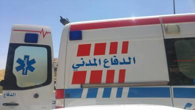 """Photo of 3 وفيات بحادث تصادم """"ونش وتريلا"""" على طريق المفرق الرويشد"""