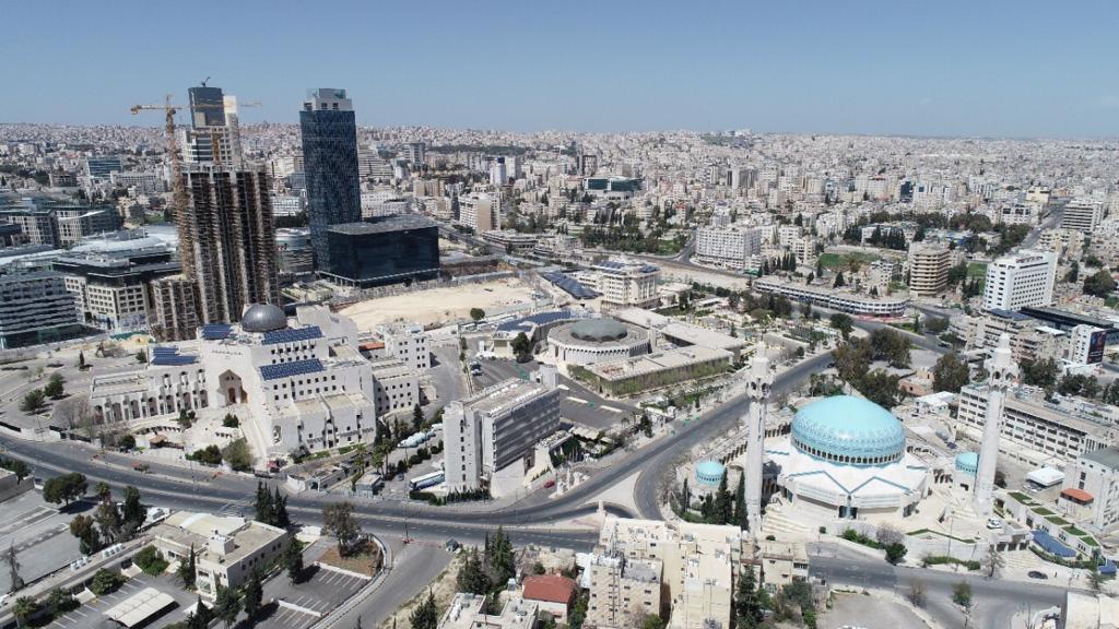 شوارع عمان خالية تماماً بعد فرض الحكومة حظراً شاملاً للتجول - أرشيفية