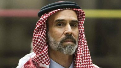 Photo of الأمير غازي ينعى والد الأميرة أريج الدكتور عمر بن عبد المنعم الزواوي