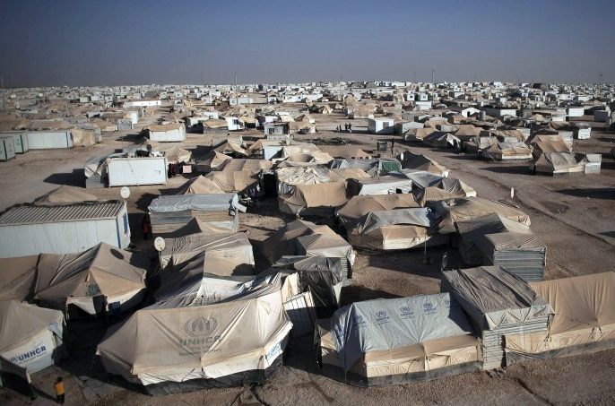 مخيم الزعتري للاجئين السوريين في محافظة المفرق -(أرشيفية)