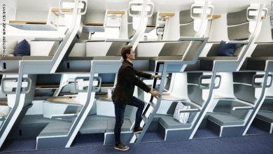 Photo of مقاعد بطابقين.. كيف سيبدو الطيران في عصر كورونا؟