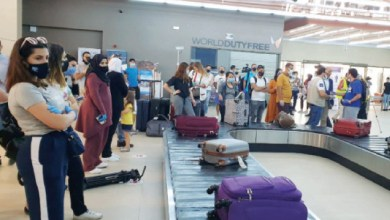 Photo of مطار الملك الحسين يستقبل أولى الرحلات الجوية القادمة من مصر