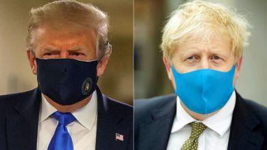 في الأيام القليلة الماضية، شوهد الرئيس الأمريكي دونالد ترامب ورئيس الحكومة البريطانية بوريس جونسون وهما يرتديان الكمامات للمرة الأولى.