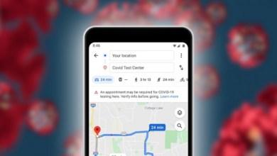 Photo of خرائط غوغل تطرح ميزات جديدة للتنقل عبر نقاط كورونا الساخنة