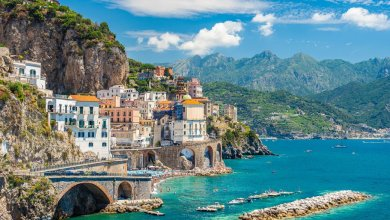Photo of منطقة أمالفي الإيطالية تحاول التوفيق بين الطبيعة والسياح
