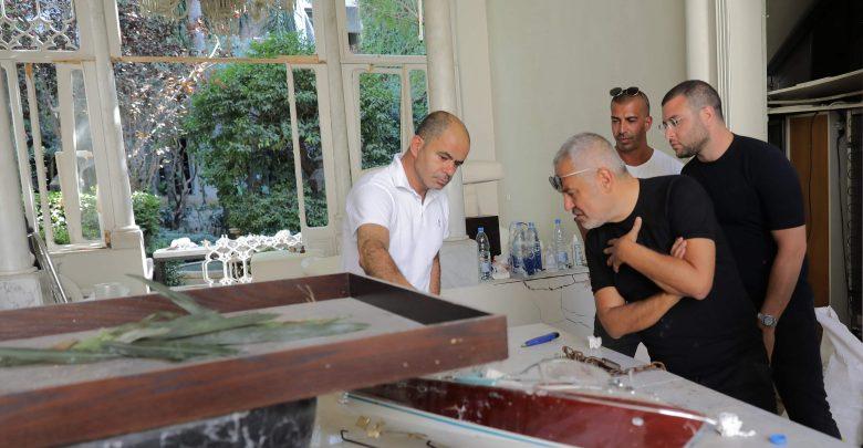 Photo of منزل مصمم الأزياء اللبناني العالمي إيلي صعب في قلب انفجار بيروت