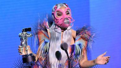 ليدي غاغا في حفل جوائز ام تي في -