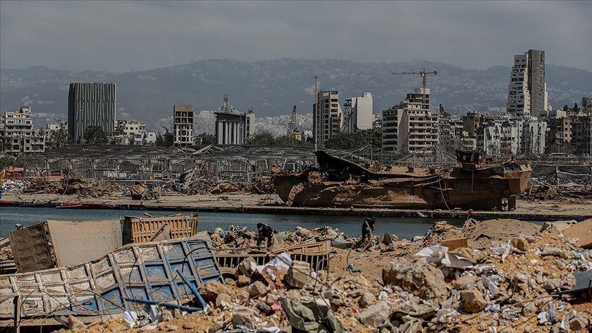 بيروت بعد الانفجار الذي هز الميناء