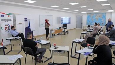 Photo of فريق التلفزيون الأردني يتدرب على تغطية الانتخابات النيابية بمعهد الإعلام الأردني