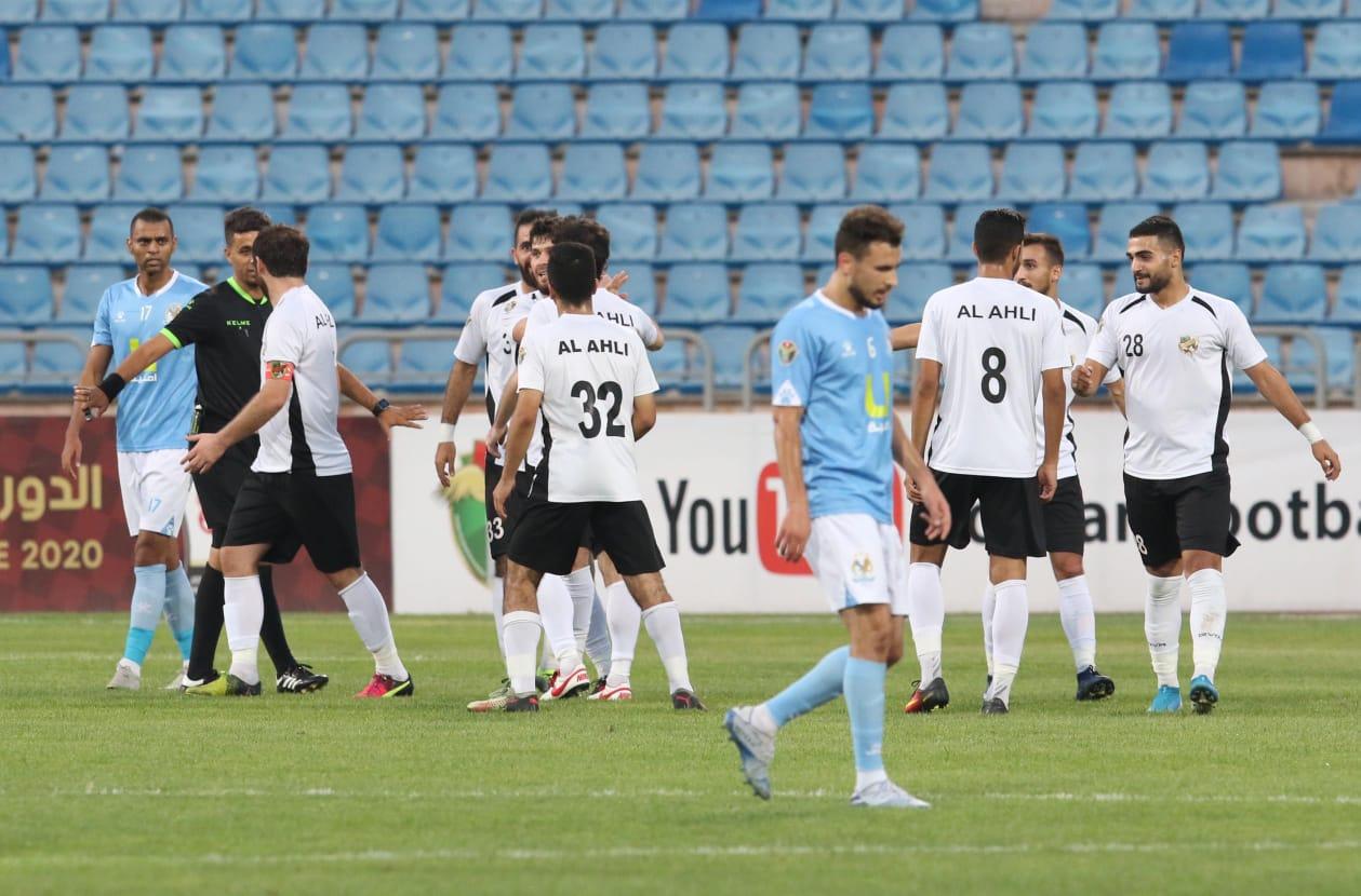 جانب من المباراة. تصوير: أمجد الطويل