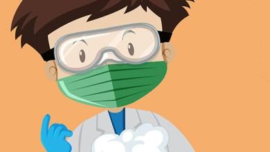 النظارات وفيروس كورونا