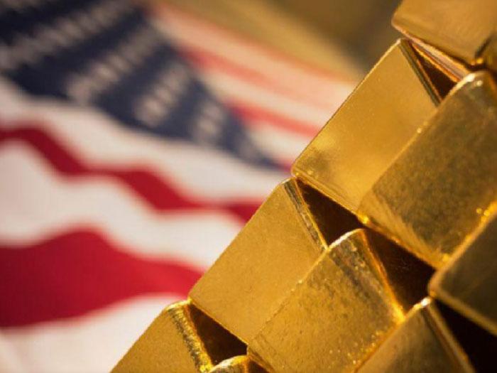 سبائك ذهبية 24 قيراط في منشأة وست بوينت منت بنيويورك -(ارشيفية)