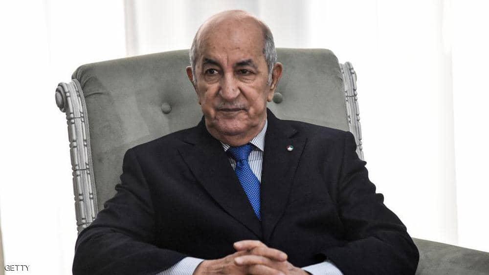 الرئيس الجزائري عبدالمجيد تبون - سكاي نيوز
