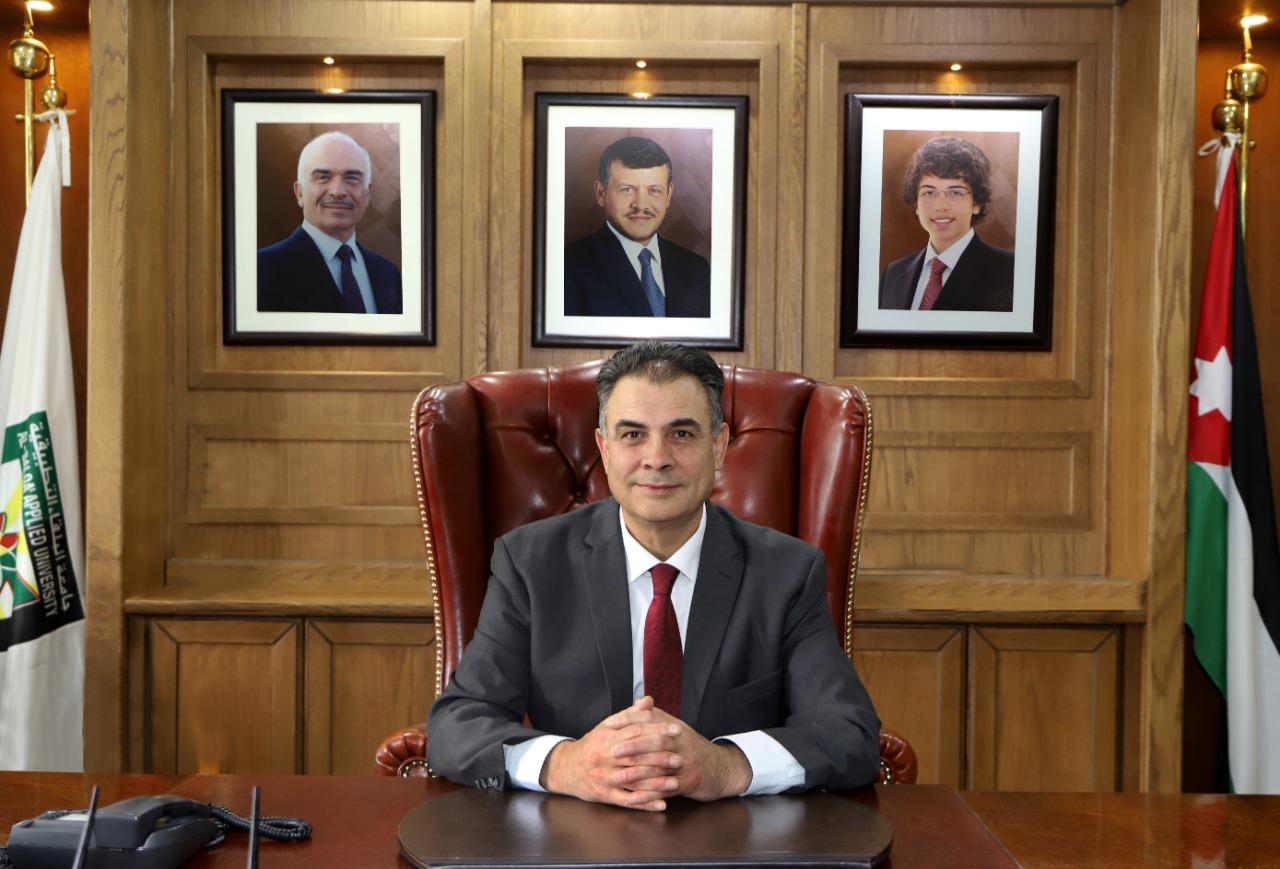 رئيس جامعة البلقاء التطبيقية الدكتور عبد الله الزعبي