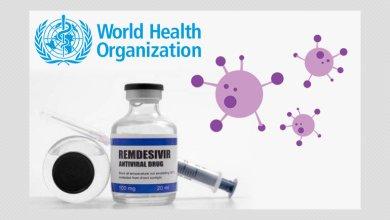 """Photo of """"الصحة العالمية"""" توصي بعدم استخدام """"ريمديسيفير"""" لعلاج فيروس كورونا"""